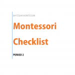 Montessori Checklist Period 2